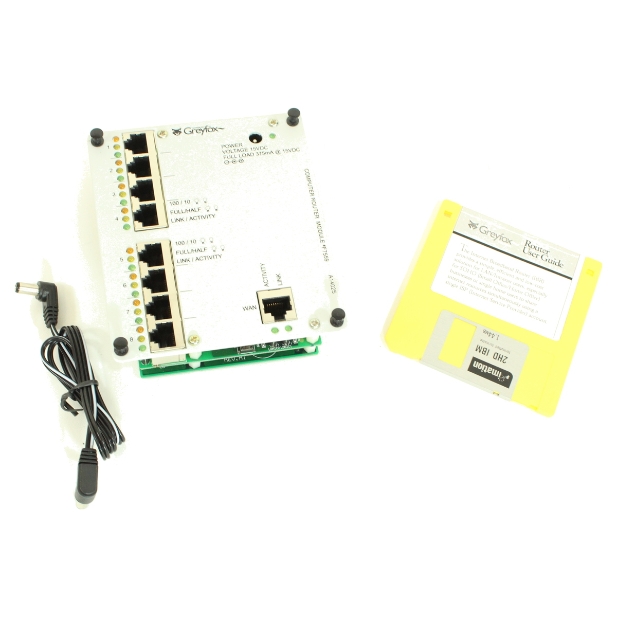1e20ec22d9f Details about On-Q Legrand F7559 8-PORT Internet Firewall Route greyfox  systems BRAND NEW